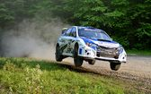 Subaru Driver David Higgins to battle for third consecutive win this weekend at the Susquehannock Trail Performance Rally