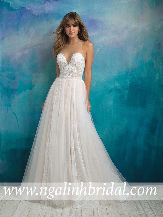 ALLURE BRIDALS 9505