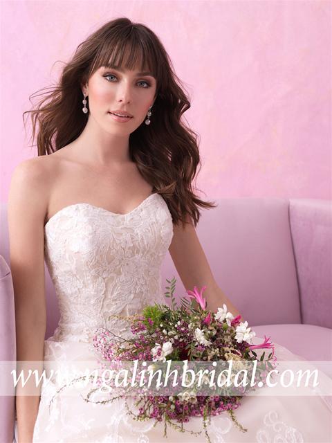 ALLURE BRIDALS 3164