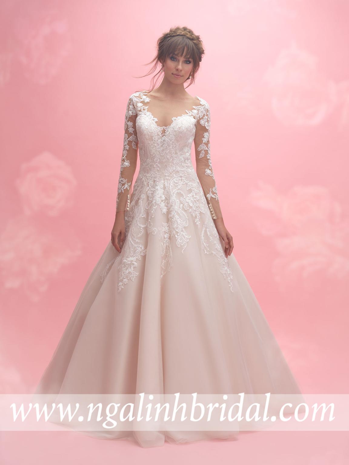 ALLURE BRIDALS 3059
