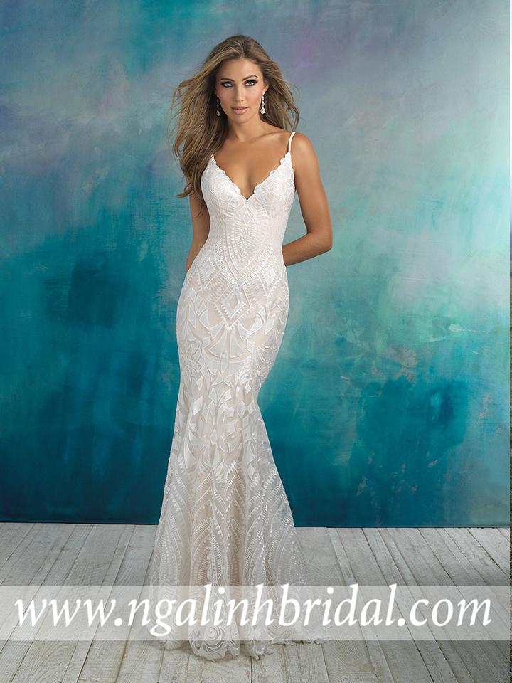 ALLURE BRIDALS 9508