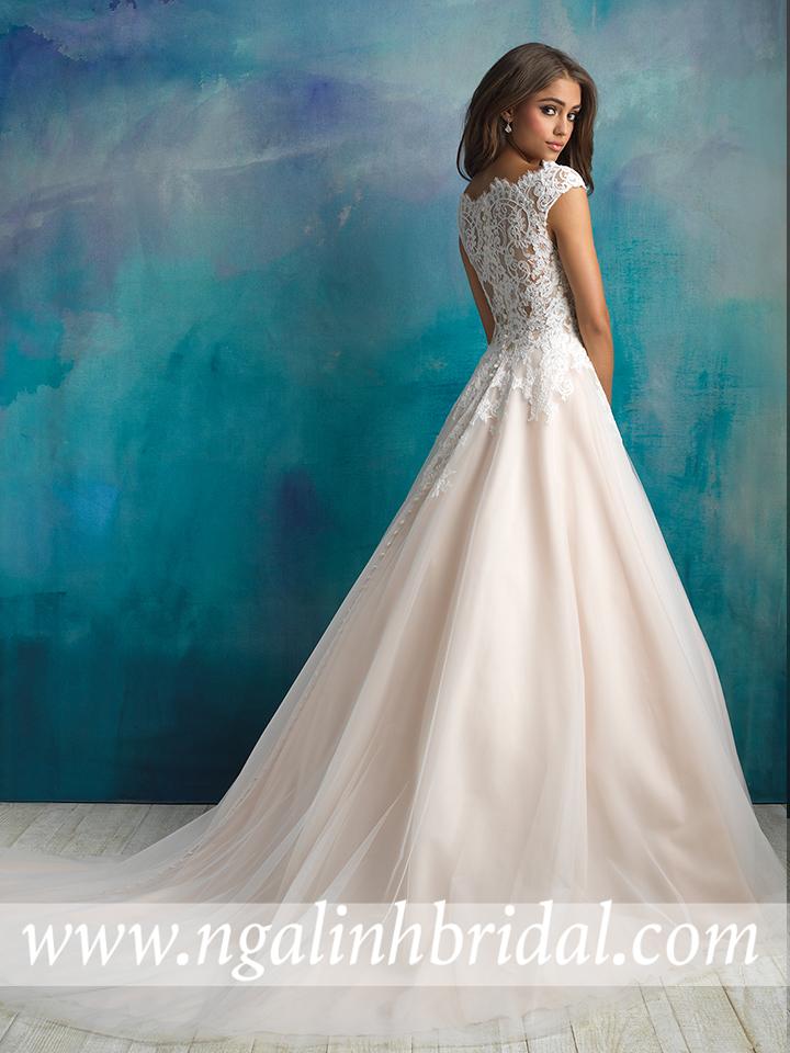ALLURE BRIDALS 9520