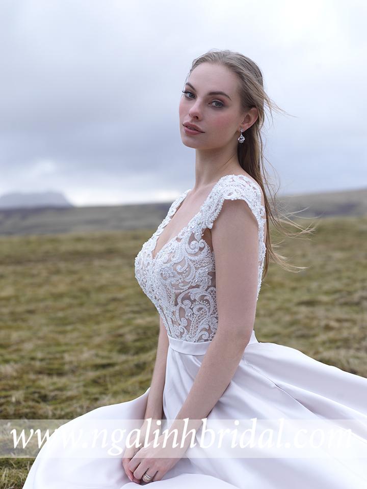 ALLURE BRIDALS 9517