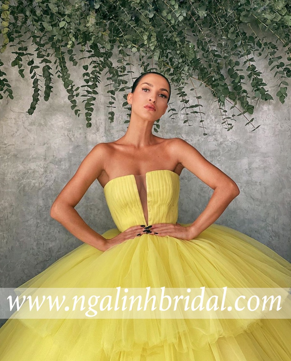 YELLOW ELLA GOWN