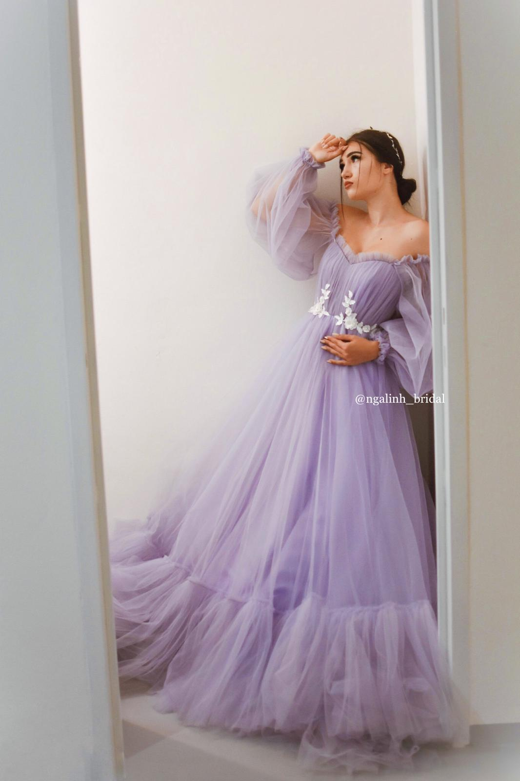 Charming Lilac Gown