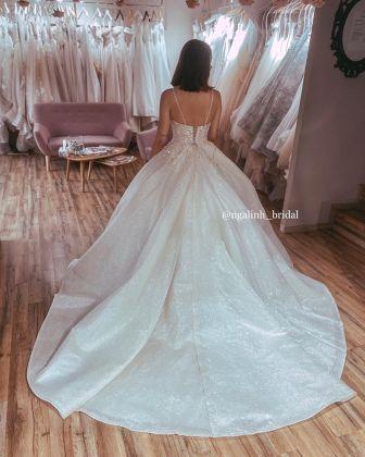 CHAMPAGNE lace princess