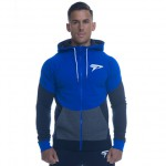 Physiq V3 Contrast Hoodie - Electric Blue