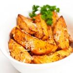 Peeled Sweet Potato Wedges - 500g