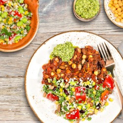 Veg Medley Burrito Bowl - 20g Protein