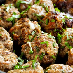 Sage & Onion Pork Stuffing Balls