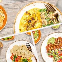 Veganistische Lunch Voor Een Week - 5 maaltijden