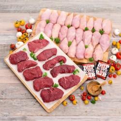 Die ultimative Hähnchen & Steak Auswahl