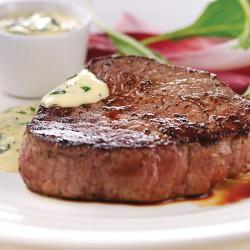 2 x 170 g Centercut-Steaks aus Freilandhaltung