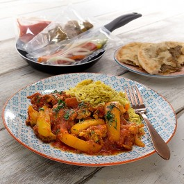 Low Fat Chicken Balti Curry - 1 portion
