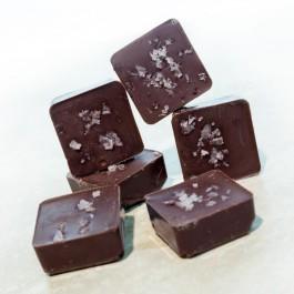 Salted Caramel Protein Dark Chocolates