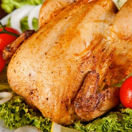 Whole Fresh British Chicken - 1.2 kg