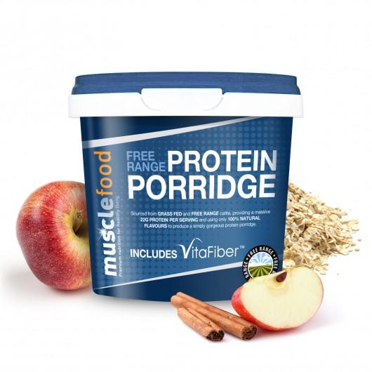 Apple & Cinnamon Porridge - 22g Protein