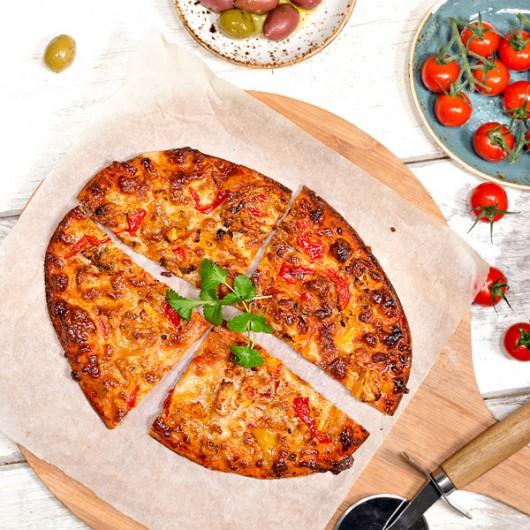 Hähnchen Tikka Light Pizza - 380 kcal