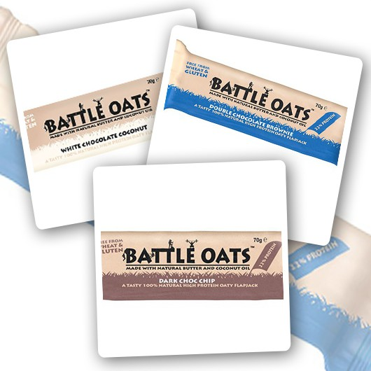 Battle Oats Variety Pack