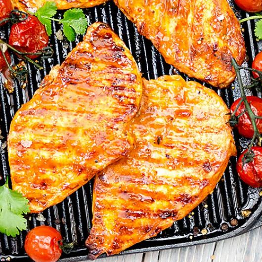 2 x 5oz Dragons Fire Glazed Chicken Steaks