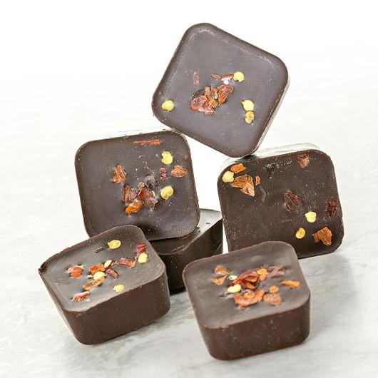 Chilli Infused Protein Dark Chocolates