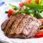 2 x 5-6oz British Peppered Steaks