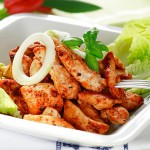 Piri Piri Marinated Chicken Strips - 400g