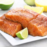 2 x 8-9oz Fresh Chilli & Garlic Salmon Fillets