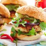Madras Chicken Burgers - 2 x 4oz