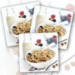 Vanilla Almond Protein Crunchies - 400g x 3
