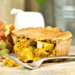 High Protein Chicken Balti Pie
