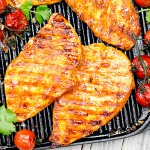 2 x 5oz Dragons Fire Glazed Chicken Steaks