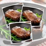 10 x 6-7oz Matured Free Range Sirloin Steaks