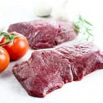 Horse Striploin Fillet Steaks - 2 x 125g