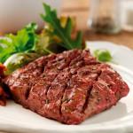 2 x 6-7oz Irish Grass Fed Flat Iron Steaks