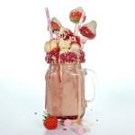 High Protein Dirty Shake - White Chocolate Strawberry