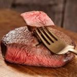 2 x 7oz Ostrich Fan Fillet Steaks