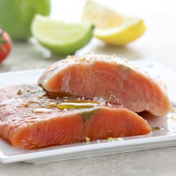 5 x Pacific Salmon Fillet - 1kg