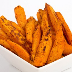 Peeled Chunky Sweet Potato Chips - 500g