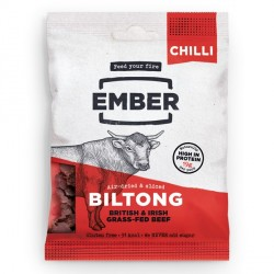 Ember Chilli High Protein Biltong - 30g
