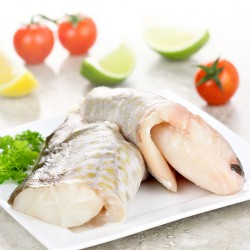 2 x Fresh Cod Fillets – 500g