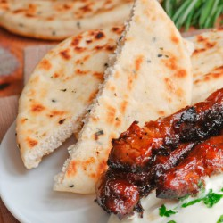 High Protein Low Carb Pita Bread