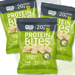 Sour Cream Protein Crisps - 6 Bags