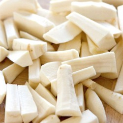 Oven Ready Quartered Parsnips - 500g