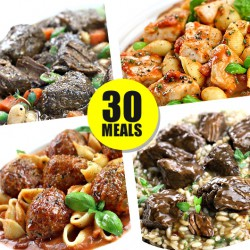 30 High Protein Ready Meal Variety Pack