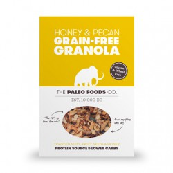 Honey & Pecan Paleo Granola - 340g