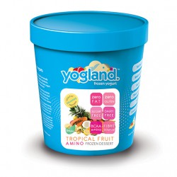 Yogland Tropical Fruit Amino Sorbet - 4 Pack