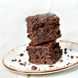 2 x Clean & Natural Choc Brownies (GF)