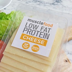 High Protein & Low Fat Cheese - Sliced