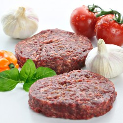 Buffalo Tomato & Basil Burgers - 2 x 4oz
